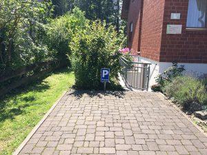 Parkplatz Praxis für Naturheilkunde und Osteopathie in Bielefeld